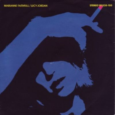 Marianne Faithfull The Ballad Of Lucy Jordan album cover