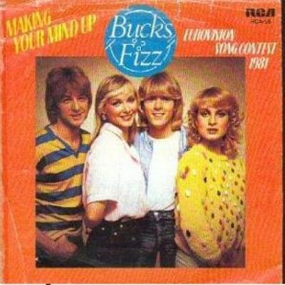 Bucks Fizz Making Your Mind Up album cover