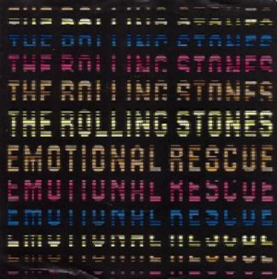 Rolling Stones Emotional Rescue album cover