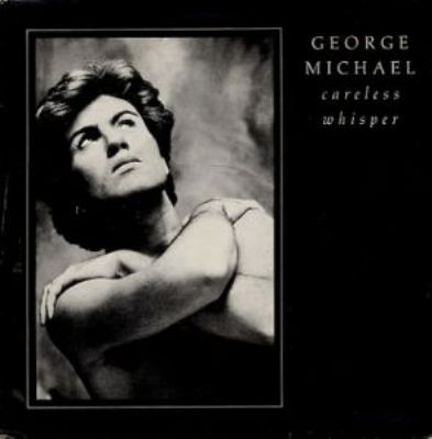 George Michael Careless Whisper album cover