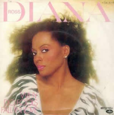 Diana Ross Why Do Fools Fall In Love album cover