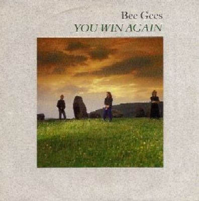 Bee Gees You Win Again album cover