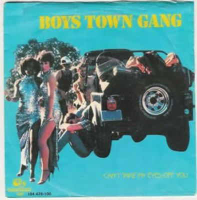 Boys Town Gang Can't Take My Eyes Off You album cover