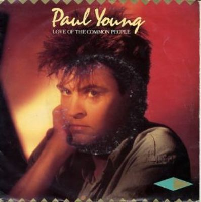Paul Young Love Of The Common people album cover