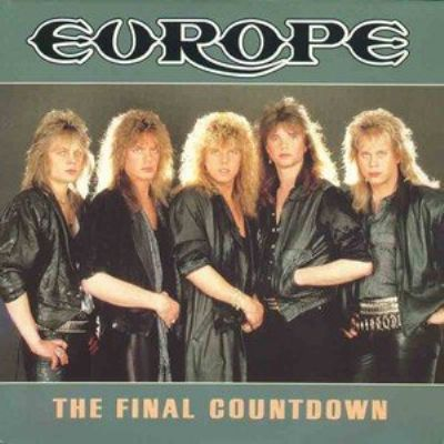 Europe The Final Countdown album cover