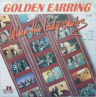 Golden Earring When The Lady Smiles album cover